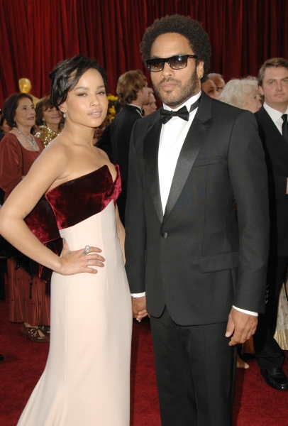Zoe Kravitz and Lenny Kravitz Photo