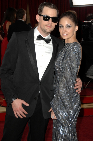 Joel Madden and Nicole Richie at Oscar Arrivals - Part 2