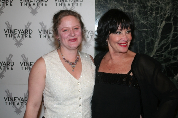 Nicole Fosse and Chita Rivera at Kander Celebration @ Vineyard - Arrivals and Reception