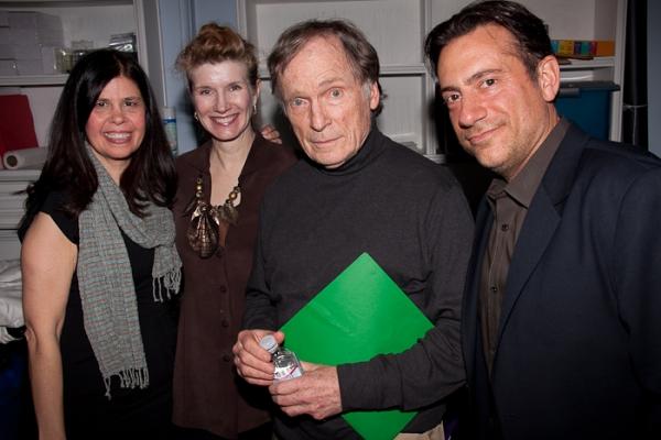 Dayle Reyfel, Martha Rogers, Dick Cavett, Eugene Pack