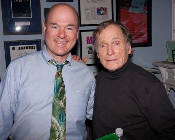 Larry Miller and Dick Cavett