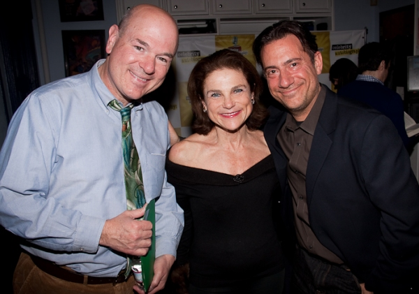 Larry Miller, Tovah Feldshuh, and Eugene Pack