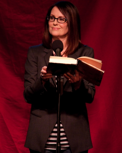 Photo Coverage: Megan Mullally Joins Celebrity Autobiography
