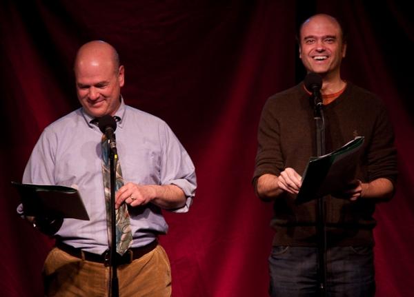 Larry Miller and Scott Adsit