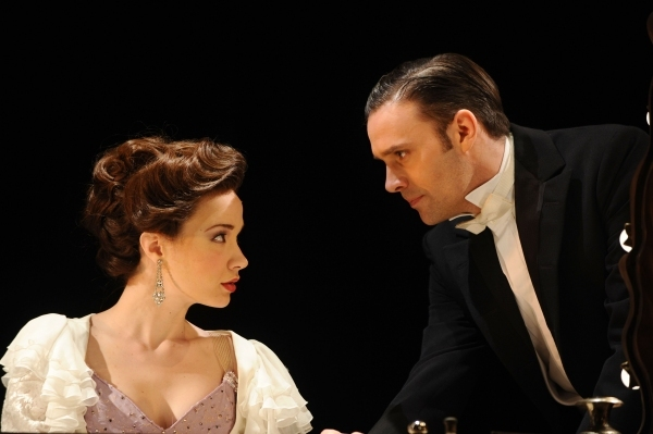 Sierra Boggess and Joseph Millson as Raoul Photo