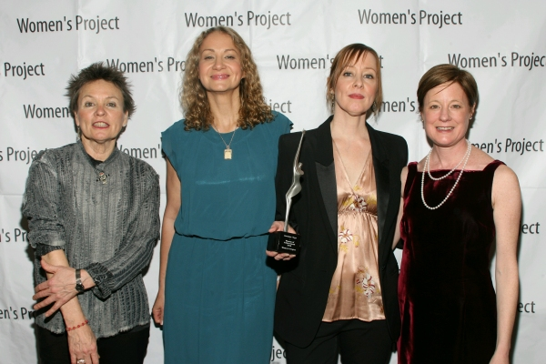 Laurie Anderson, Joan Osborne, Suzanne Vega and Julie Crosby WP Women of Achievement 2010