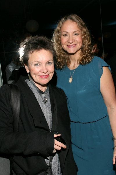 Laurie Anderson and Joan Osborne at Anderson, Osborne and Vega Honored with Women's Project's 2010 Award