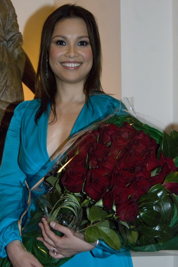Photo Coverage: Lea Salonga Makes Her Cafe Carlyle Debut