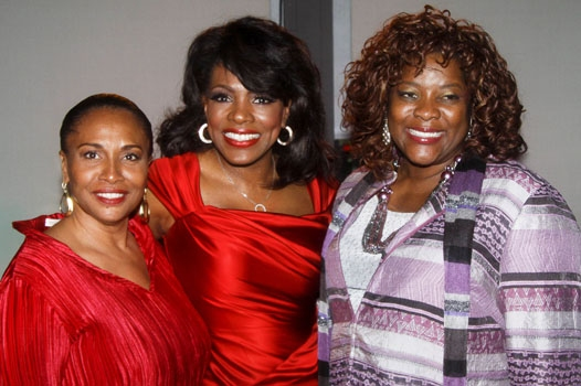 Jenifer Lewid, Sheryl Lee Ralph and Loretta Devine at Upright Cabaret Photo