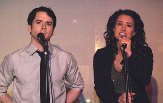 Christian Campbell and America Olivio at Upright Cabaret
