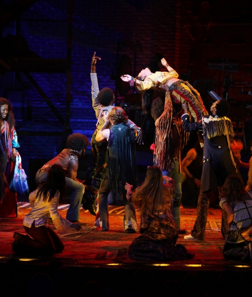 Photo Coverage: New HAIR Tribe Makes Broadway Debut!