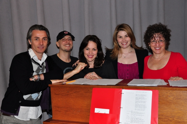Jonathan Butterell, Steve Marzullo, Georgia Stitt, Heidi Blickenstaff and Cheri Stein Photo
