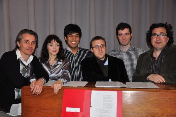 Jonathan Butterell, Judith Blazer, J. Oconer Navarro, Josh Schmidt, Andy Boroson and David Simpatico