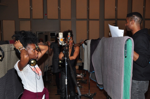 Photo Coverage: FELA! Cast Records Cast Album