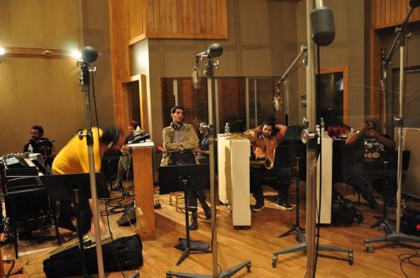 Photo Coverage: FELA! Cast Records Cast Album