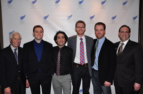 Michael Price, This Year's Recipients: Peter Lerman, Daniel Mate, Michael Kooman, Christopher Dimond, Howard Sherman