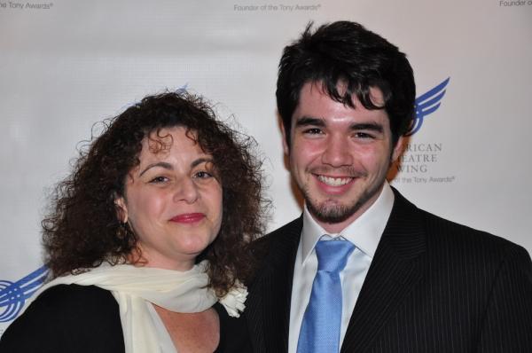 Julie Larson with son, Matt