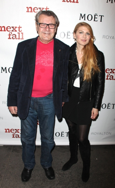 Milos Forman and Martina Zborilova