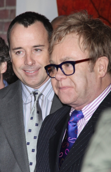 David Furnish and Elton John