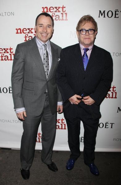 David Furnish and Elton John Photo