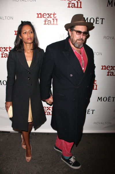 Rula Jebreal and Julian Schnabel