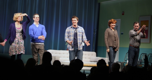 Maddie Corman, Patrick Breen, Patrick Heusinger, Connie Ray & Cotter Smith