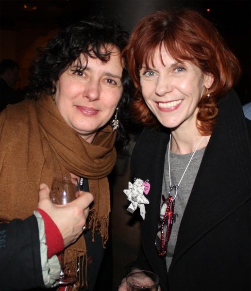 Yolanda Vazquez and Siobhan Redmond