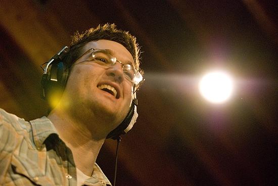 Matt Hinkley at Joe Iconis & Cast Record 'Things to Ruin' Tracks