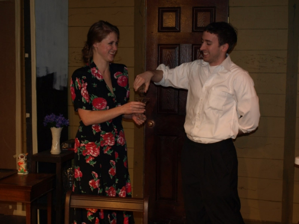 Photo Flash: Rehearsal Photos of Laurel Mill Playhouse's A MURDER IS ANNOUNCED