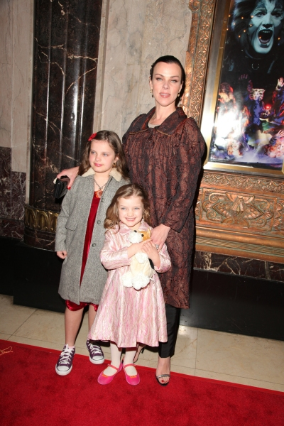 Debi Mazar at Hardin, Devine, Roberts et al. Attend Opening Night of CATS at The Pantages