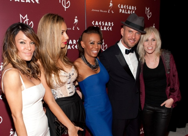 Robin Antin, Leona Lewis, Mel B , Matt Goss and Natasha Bedingfield