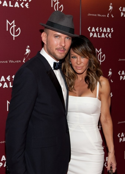 Matt Goss and Robin Antin