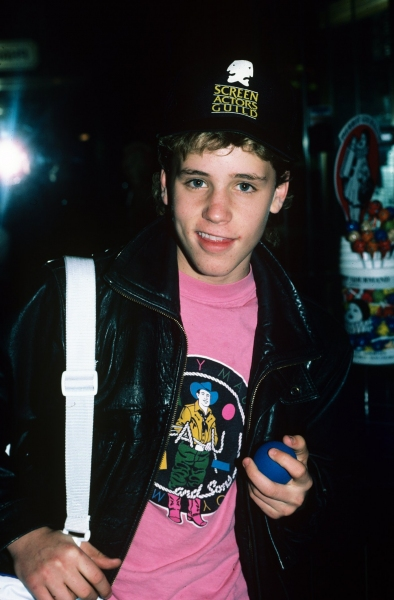 Corey Haim in NYC. 1987