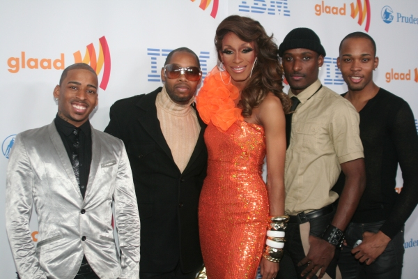 Sahara Davenport with Vogue Evolution