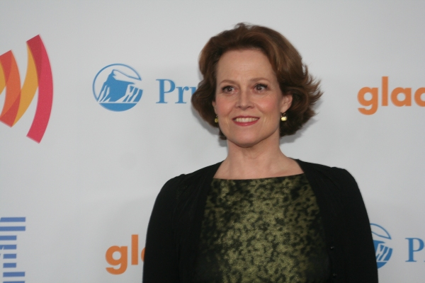 Sigourney Weaver at 21st Annual GLAAD Media Awards