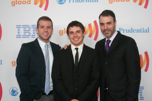 Scott Evans, Brett Claywell and Ron Carlivati
