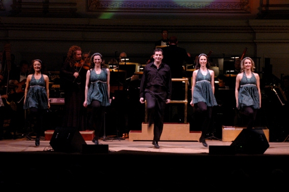 Darrah Carr Dance at The NY Pop's AN EVENING OF CELTIC MUSIC Presented at Carnegie Hall
