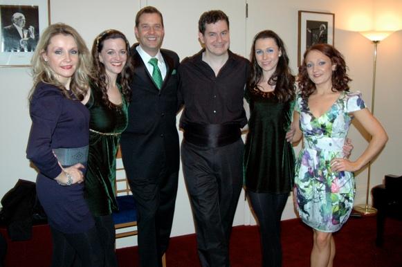 Joanna Barry, Darrah Carr Byrne, Steven Reineke, Niall O'Leary, Caitlin McNeill, and Louise Corrigan