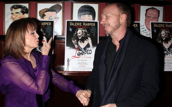 Valerie Harper & Paul Haggis at LOOPED Opening Night After Party