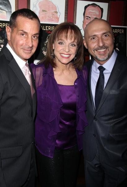 Matthew Lombardo, Valerie Harper & Rob Ruggiero Photo
