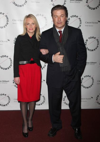 Alec Baldwin and Claire Evans