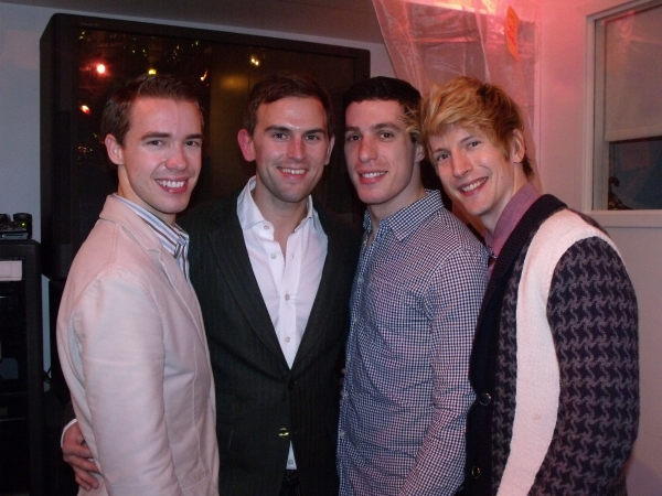 Paul Winkler, Daniel Reichard, Ben Knox and Ben Gettinger