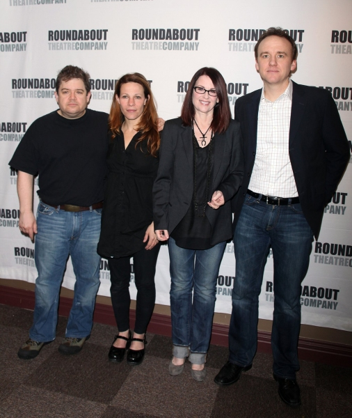 Patton Oswalt, Lili Taylor, Megan Mullally and David Wilson Barnes