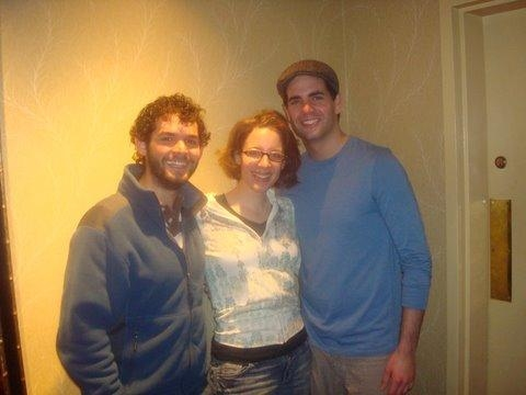 Andrew Keltz, Jessie Mueller and Ryan Reilly