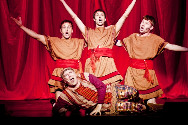 Photo Flash: Reprise Theatre Presents A FUNNY THING HAPPENED ON THE WAY TO THE FORUM