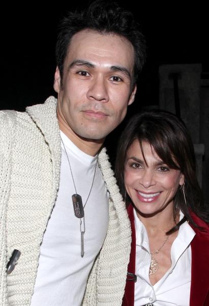 Michael Balderrama & Paula Abdul