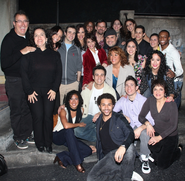 The Cast of IN THE HEIGHTS with its special guests!