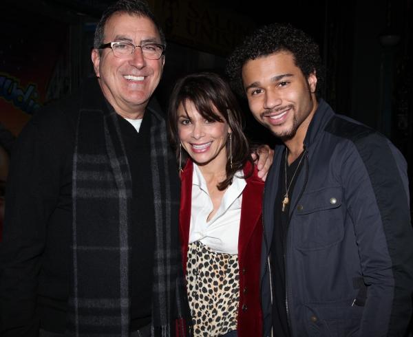 Kenny Ortega, Paula Abdul & Corbin Bleu