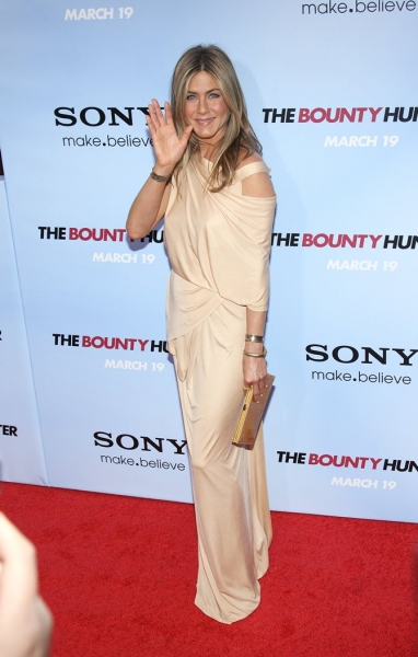 Jennifer Aniston at THE BOUNTY HUNTER Premieres in NYC