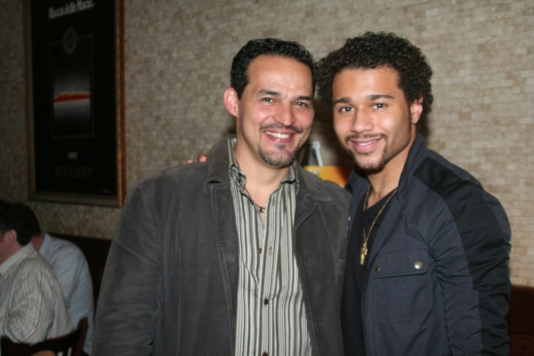 Photo Coverage: Corbin Bleu Portrait Unveiled at Tony's diNapoli